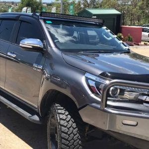 Toyota Hilux N80 windscreen mount led light bar