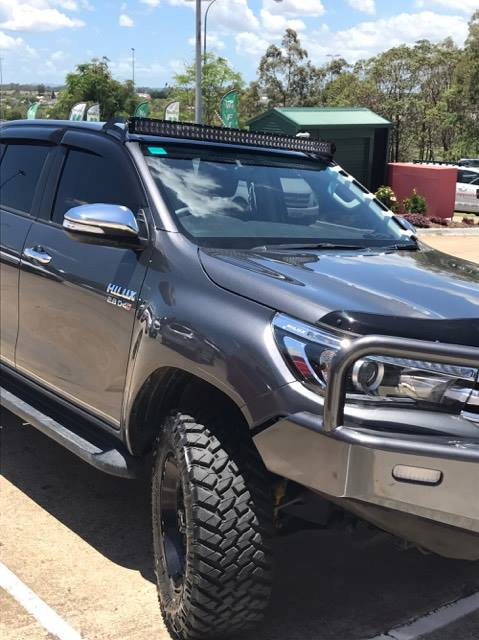 Toyota Hilux 2016 Onwards N80 Fortuna 50 Quot Curved