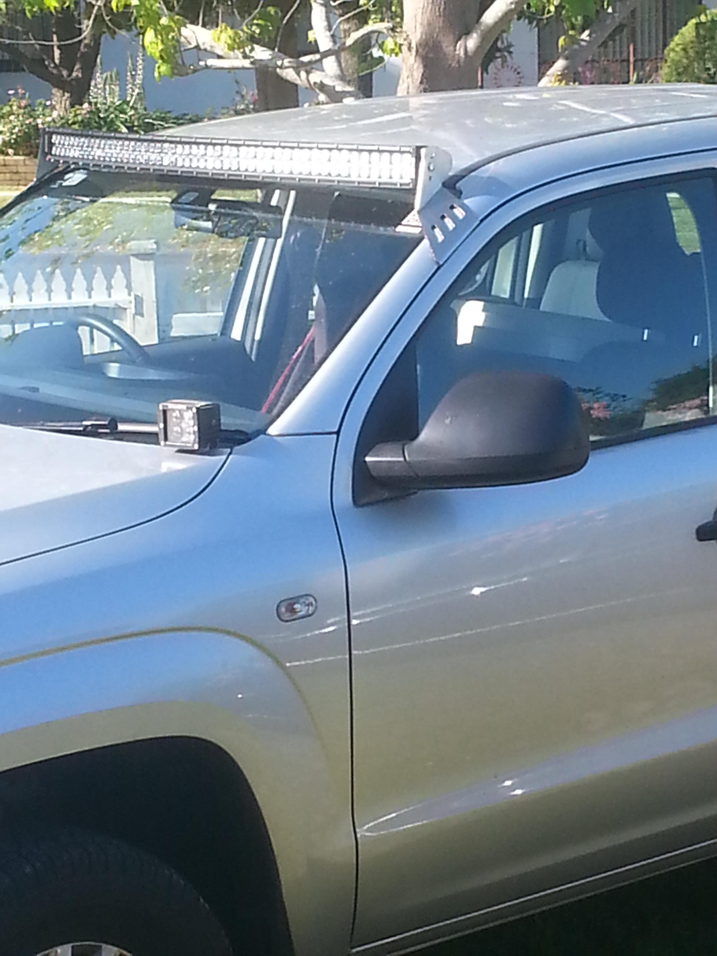 Volkswagen Amarok 50 Quot Curved Windscreen Mount Bullseye