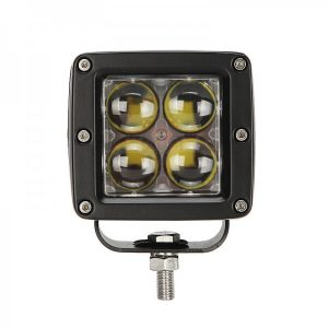 20W 4D Square Driving Light Aluminium Housing Stainless Bracket Bullseye Products Lilydale