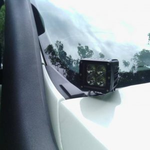 Ford PX Ranger Cowl mount ditch light bonnet mount side lights Pod lights bullseye products lilydale melbourne australia