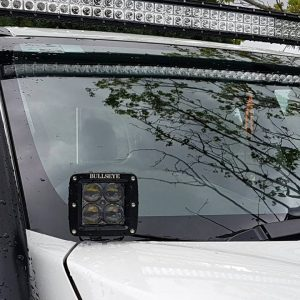 Cowl Ditch Light Bonnet Mount Side Lights Pod Lights Melbourne Lilydale Bullseye products 4x4 Australia