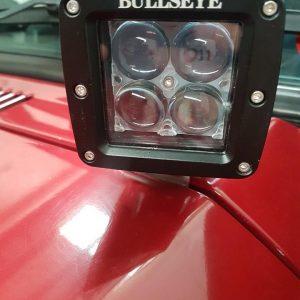 Cowl Ditch Light Bonnet Mount Side Lights Pod Lights Toyota Landcruiser 80 Series