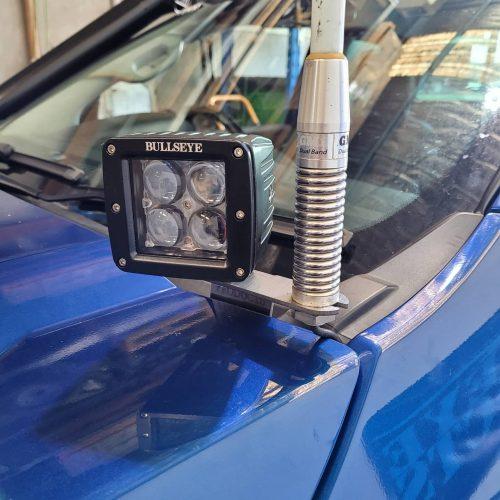 Ford PX Ranger UHF Antenna cowl mounts image 02